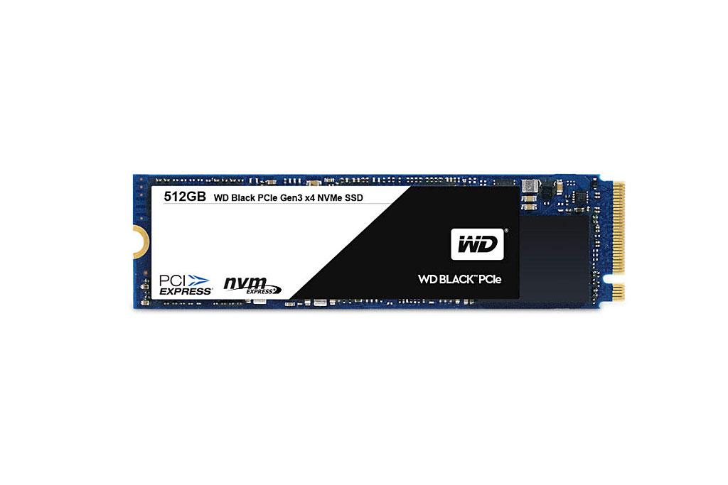 Bild Western Digital: WD Black PCIe-SSD.