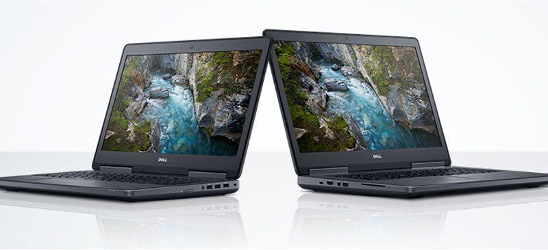 Bild Dell: Dell Notebooks mit Nvidia-Quadro-Grafikchips des Modelljahrs 2017.